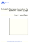 Industrial relations developments in the commerce sector in Europe: Spain