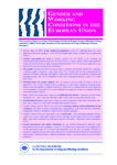 Gender and working conditions in the European Union (Summary)