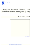 European Network of Cities for Local Integration Policies for Migrants (CLIP): Evaluation report