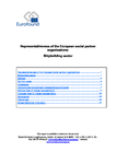 Representativeness of the European social partner organisations: Shipbuilding sector