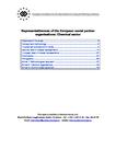 Representativeness of the European social partner organisations: Chemical sector