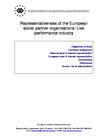 Representativeness of the European social partner organisations: Live performance industry