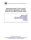 Representativeness of the European social partner organisations: the Hotel, restaurant and catering (Horeca) sector