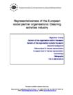 Representativeness of the European social partner organisations: Cleaning activities industry