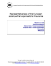 Representativeness of the European social partner organisations: Insurance