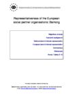 Representativeness of the European social partner organisations: Banking