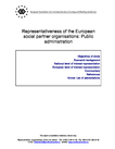 Representativeness of the European social partner organisations: Public administration