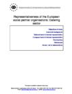 Representativeness of the European social partner organisations: Catering sector