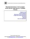 Representativeness of the European social partner organisations: Footwear industry