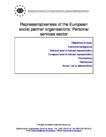 Representativeness of the European social partner organisations: Personal services sector