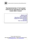 Representativeness of the European social partner organisations: Sea and coastal water transport
