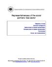 Representativeness of the European social partner organisations: Gas sector