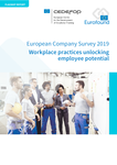 European Company Survey 2019 - Workplace practices unlocking employee potential
