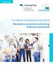 Den europæiske virksomhedsundersøgelse 2019: Praksis på arbejdspladsen og frigørelse af medarbejderpotentiale