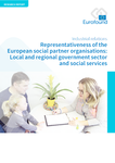 Representativeness of the European social partner organisations: Local and regional government sector and social services