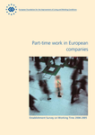 Part-time work in European companies