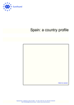 Spain: a country profile