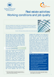 Real estate activities: Working conditions and job quality