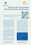 Legal and accounting services: Working conditions and job quality