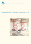 Developments in collectively agreed pay 2012