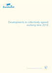 Developments in collectively agreed working time 2014