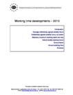 Working time developments – 2010