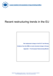 Recent restructuring trends in the EU