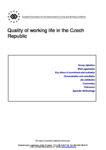 Quality of working life in the Czech Republic (report)