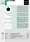 EIRObserver (Issue 3/01)