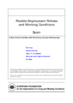 Flexible employment policies and working conditions (Spain)