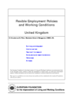 Flexible employment policies and working conditions (United Kingdom)