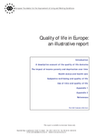 Quality of life in Europe: an illustrative report