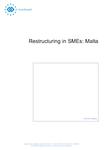 Restructuring in SMEs: Malta