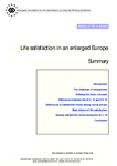 Life satisfaction in an enlarged Europe (summary)