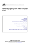 Temporary agency work in the European Union (report)