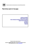 Part-time work in Europe (report)