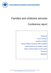 Families and childcare services - Conference report