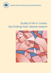 Quality of life in Croatia: Key findings from national research
