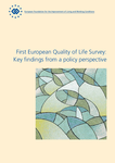 First European Quality of Life Survey: Key findings from a policy perspective