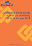 Consolidated annual activity report of the Authorising Officer for the year 2014