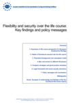 Flexibility and security over the life course: Key findings and policy messages