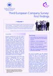 Terceiro Inquérito Europeu às Empresas: Primeiras Conclusões