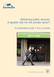 Delivering public services: A greater role for the private sector? An exploratory study in four countries