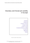 Voluntary and forced job mobility in Europe