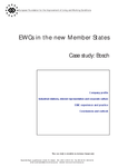 EWCs in the new Member States - Case study: Bosch