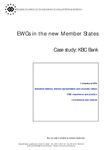 EWCs in the new Member States - Case study: KBC Bank