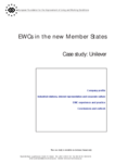EWCs in the new Member States - Case study: Unilever