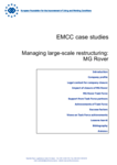 EMCC case studies - Managing large-scale restructuring: MG Rover