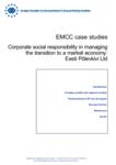 EMCC case studies - Corporate social responsibility in managing the transition to a market economy: Eesti Põlevkivi Ltd