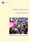 Trends in quality of life - Croatia: 2007–2012